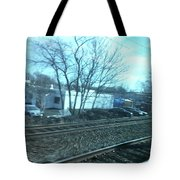 New Jersey From The Train 4 Tote Bag