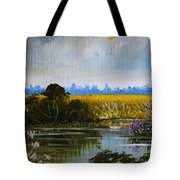 New Jersey Marsh Tote Bag