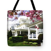 New Jersey Shore Spring Tote Bag