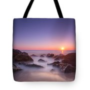 New Jersey Sunrise At Sea Girt Tote Bag