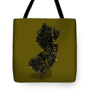 New Jersey Typographic Map 4b Tote Bag