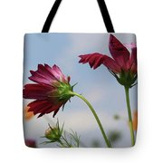 New Jersey Wildflowers In The Wind Tote Bag