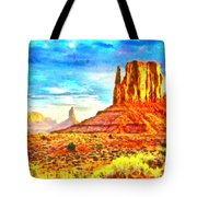 New Mexico Beautiful Desert - Pa Tote Bag