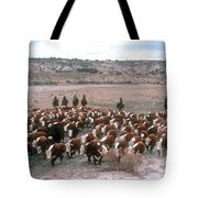 New Mexico Cattle Drive Tote Bag