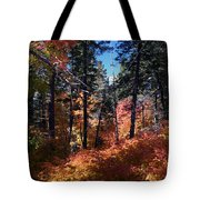 New Mexico Foliage Tote Bag