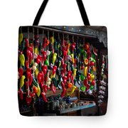 New Mexico Hanging Peppers Tote Bag
