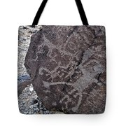 New Mexico Petroglyphs Tote Bag by Kyle Hanson