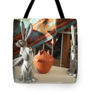New Mexico Rabbits Tote Bag