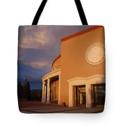 New Mexico State Capital Building Tote Bag