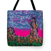 New Mexico Twilight Tote Bag