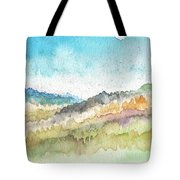 New Morning- Watercolor Art By Linda Woods Tote Bag