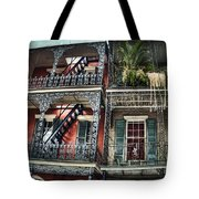 New Orleans Balconies No. 4 Tote Bag
