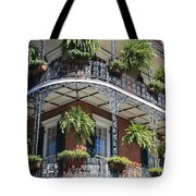 New Orleans Balcony Tote Bag