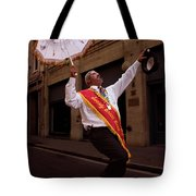 New Orleans Brass Band Leader Tote Bag
