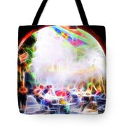 New Orleans Cafe Tote Bag
