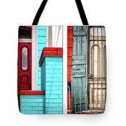 New Orleans Doorways Diptych One Tote Bag