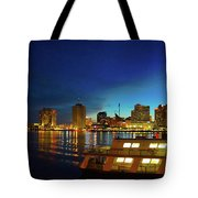 New Orleans Downtown Skyline Tote Bag