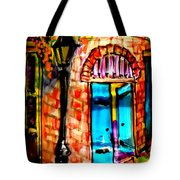 New Orleans French Quarter Tote Bag