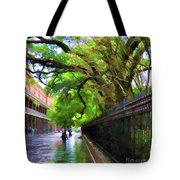 New Orleans French Quarter Paint  Tote Bag
