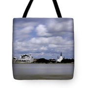 New Orleans From Algiers Point - In Color Tote Bag