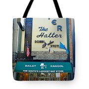 New Orleans Hatter Tote Bag
