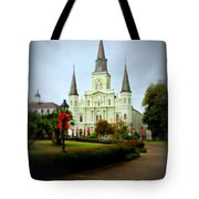 New Orleans Holiday Tote Bag