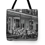 New Orleans Jazz 2 - Bw Tote Bag