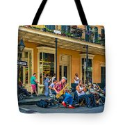 New Orleans Jazz 2 Tote Bag