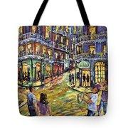 New Orleans Jazz Night By Prankearts Fine Art Tote Bag