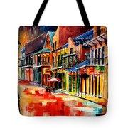 New Orleans Jive Tote Bag