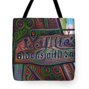 New Orleans - Lafittes Blacksmith Shop Sign Tote Bag