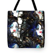 New Orleans Masks Tote Bag
