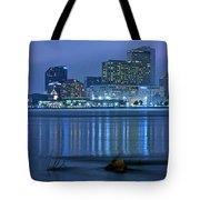New Orleans Panorama Tote Bag
