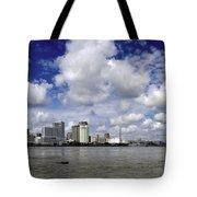 New Orleans Panoramic Tote Bag