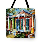 New Orleans Plain And Fancy Tote Bag