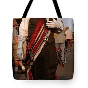 New Orleans Second Line Band Conductor Tote Bag