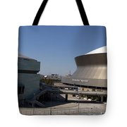 New Orleans Sports And Entertainment Complex Tote Bag