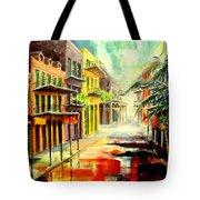 New Orleans Summer Rain Tote Bag