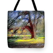 New Orleans Sunday In The Park With George Tote Bag