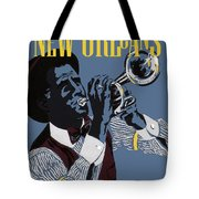 New Orleans, Trumpeter Tote Bag