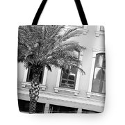New Orleans Windows - Black And White Tote Bag
