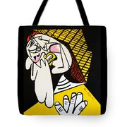 New Picasso The Weeper 2 Tote Bag