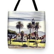 New Point Loma Lighthouse Tote Bag