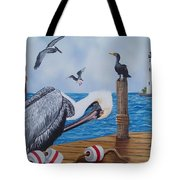 New Point Pelican Tote Bag