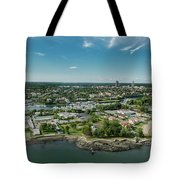 New Rochelle Bech Clubs Tote Bag