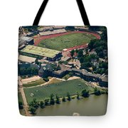 New Rochelle High School Aerial Photo Tote Bag