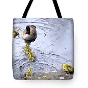 New Spring Baby Geese Tote Bag
