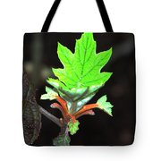 New Spring Leaf Tote Bag
