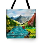 New Upload Tote Bag