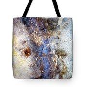 Art Blue Metal 58 Tote Bag